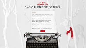 Westfield's Perfect Present Finder
