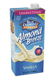 Unsweetened Vanilla Almond Breeze Almondmilk