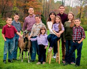 PJ and Jim Jonas and their 8 homeschooled children, 8 to 18, make GoatMilkStuff.com natural soaps, lotions and the wonderful selection of goat milk Caramel Candy, Fudge and more for customers across the USA and worldwide.