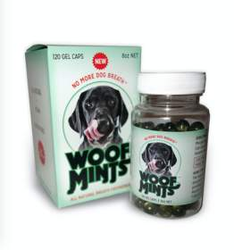 Woofmints: a revolutionary all natural dog breath freshening product