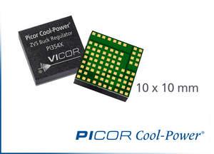 Vicor's Picor Cool-Power ZVS PI354x 48 V buck regulators