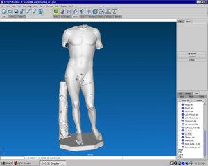 3D Digital Data of Tullio Lombardo's 'Adam'