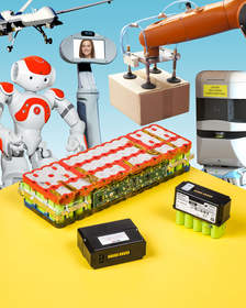 Aved battery packs for robotics and mobility products