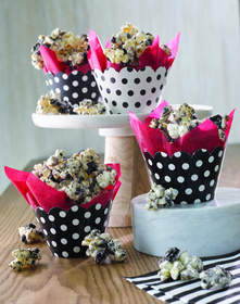 Popcorn in creative cartons