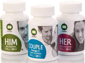 Fruitful Way Personalized Natural Supplements for Him, Her and the Couple