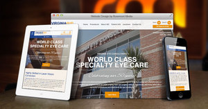 Virginia Eye Doctors Announce New Responsive Website