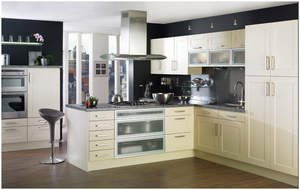Contemporary Kitchen Shaker Style Cabinets