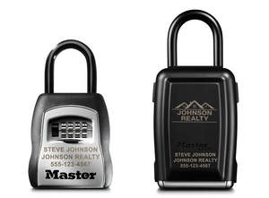 Master Lock Engraved Lock Boxes
