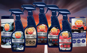 303 Products is pleased to introduce its new 5-star line up of Automotive Appearance Care products.