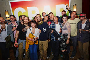 """Dave Carnie, Sean Cliver, Johnny Knoxville, Mike Carroll, Jeff Tremaine, Jason """"Wee-Man"""" Acuna, Chris Pontius and countless other individuals came out to celebrate DC's Big Brother collaboration and book launch."""