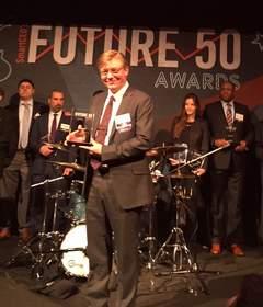 Work Market CEO Stephen DeWitt Accepts Future 50 Award