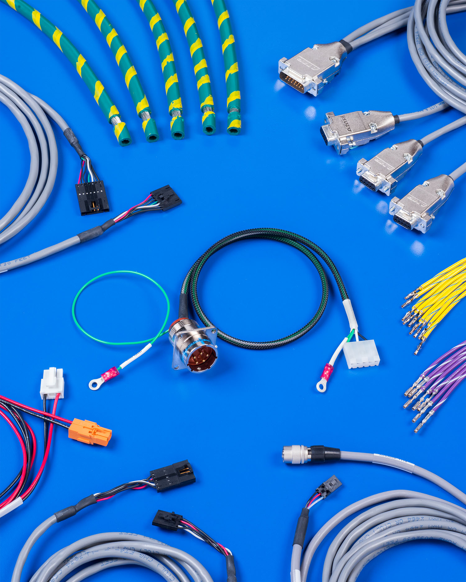 Wondrous Aved Cable Harness Assembly Provides Full Automated Continuity Testing Wiring Database Gramgelartorg