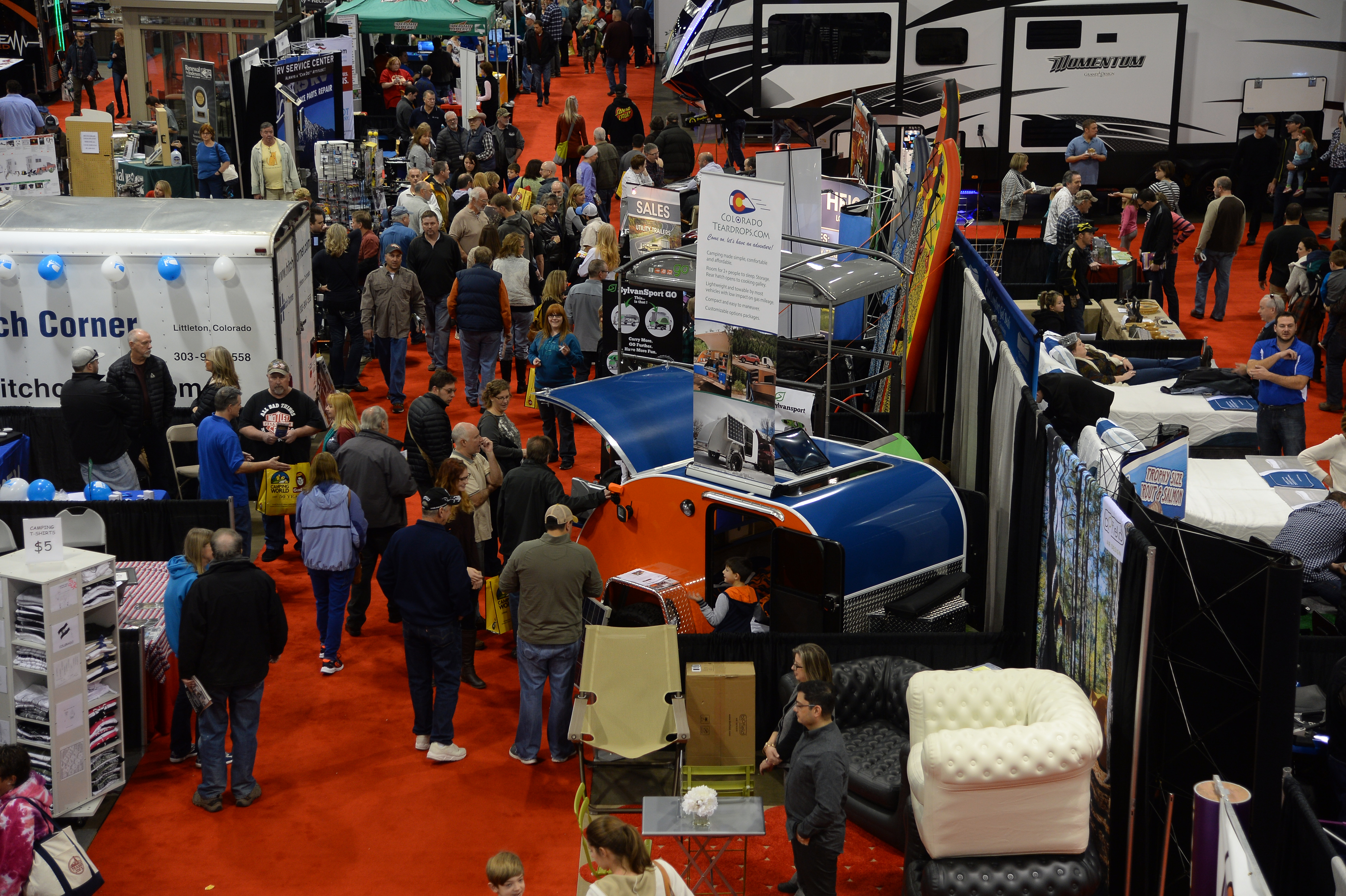Greater Atlanta RV Show Brings The Latest Products In The RV - Car show world congress center atlanta