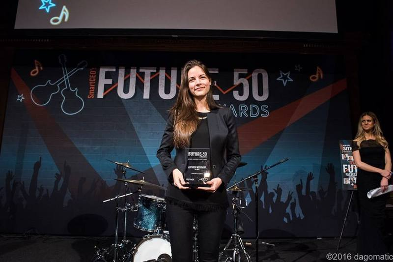 The Muse and CEO Kathryn Minshew Honored at SmartCEO Future 50 Awards