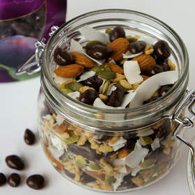Mason Jar Trail Mix