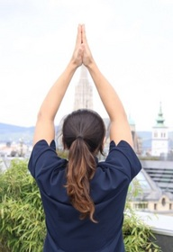 Vienna hotel business yoga