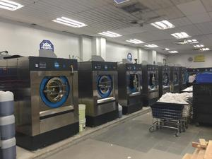 Xeros ultra-low water laundry system