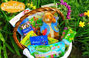 Gimbal's Fine Candies Easter Basket