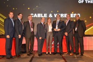 SAN DIEGO, Calif. - Avaya's Top Executives and Daniel Peiretti, SVP Product Development, C&W Business (center)
