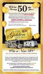 Michigan Man Wins New Travel Trailer in the Camping World & Good Sam Golden Giveaway