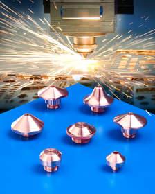 Laser Research Copper CO2 Laser Nozzles