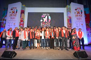 Chefs and restaurateurs celebrate at Asia�s 50 Best Restaurants 2016 awards ceremony, sponsored by S.Pellegrino & Acqua Panna