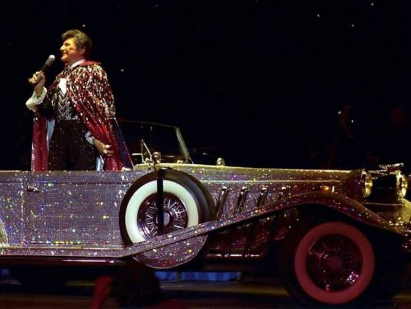 Liberace's Legacy Is Alive and Well and Revving Up the Hollywood Cars Museum at Hot Rod City, Las Vegas