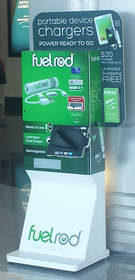 FuelRod Mobile Charger Kiosk