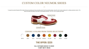 Allen Edmonds gives sports fans a reason to cheer with the launch of their custom wingtip shoe offer.