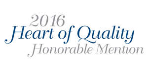 2016 Heart of Quality Honorable Mention