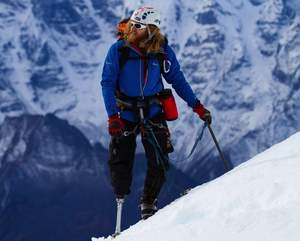 Retired Staff Sergeant Chad Jukes to climb Mount Everest with USX Team April 7.