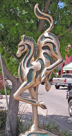 Bastrop Art in Public Places 2016 Downtown Bastrop Sculpture Project