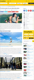 Cheapflights.ca best vacation for any relationship status