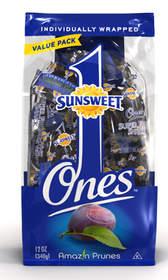 Bag of Sunsweet prunes.