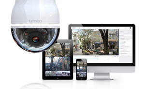 Umbo CV offers end-to-end security solution, including its Umbo SmartDome camera, its Aqua SmartCloud management portal and its mobile app.