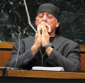 Hulk Hogan Waiting for Verdict