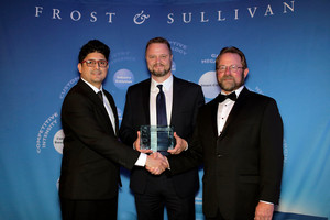 Arkadin Brij Chandra Geoff Newman Frost Sullivan Conferencing Services Award
