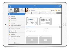 drchrono Announces Patient Insurance Card and Credit Card Capture in iPad, iPhone App and Web