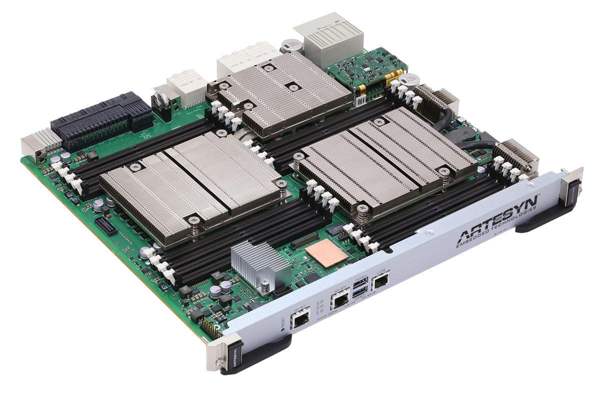 Artesyn Introduces New High Performance Packet and Server Processing Blade