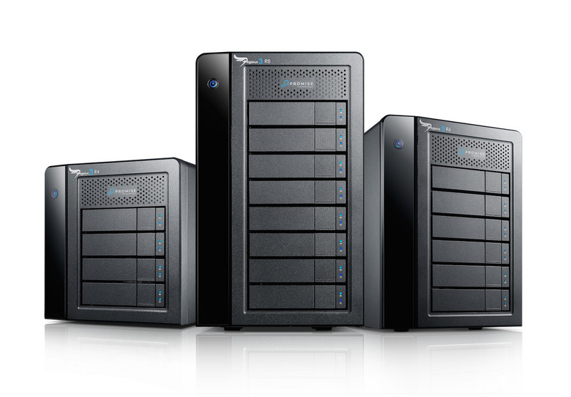Promise Technology Previews Thunderbolt 3 Devices and 16G Fibre Channel Enterprise Storage System at NAB 2016
