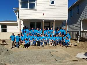 Chipman Relocation & Logistics company volunteers