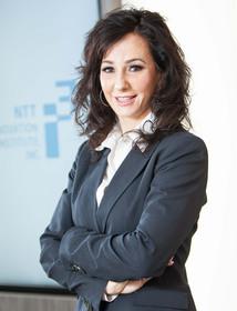 Nina Simosko, CEO and President of NTT i3, named Woman of Influence