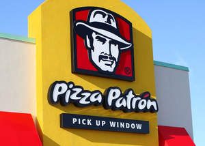 Pizza Patron QSP Sign