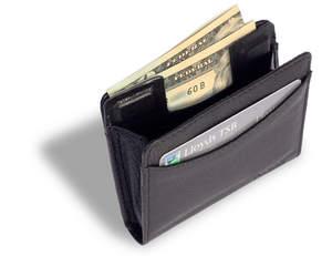 RFID-blocking wallet, minimalist wallet, minimalist bifold wallet, handcrafted wallet, sustainable