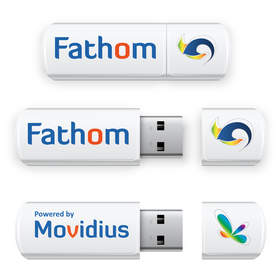 The Fathom Neural Compute Stick. The world's first embedded neural network accelerator with standard USB connectivity.