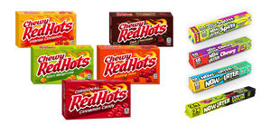 New Red Hots and Now and Later products