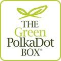 Green PolkaDot Box