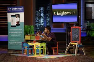 """Billionaire investors Mark Cuban and Chris Sacca invested $600k in early education platform brightwheel when the company appeared on ABC's """"Shark Tank"""" on April 29, 2016."""