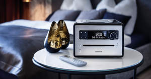 sonoro audio's Cubo: the world's first all-in-one sound system designed for a healthy life.