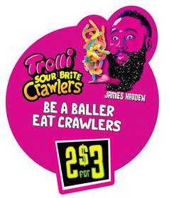Trolli's Crawlers for Ballers Campaign